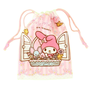 My Melody Sanrio Mini Drawstring Bag Bags & Wallets - Sweetie Kawaii