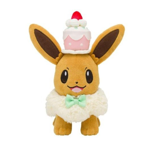 Pokémon Centre Mysterious Tea Party Series Eevee Plush Figure