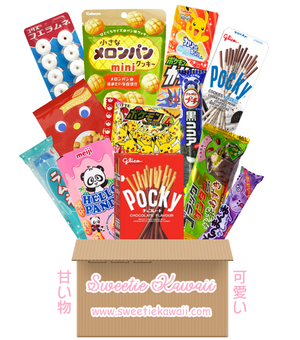 BARGAIN BOX - Mystery Japanese & Asian Candy Snack Box (NO SUBSCRIPTION NEEDED!) Japanese Candy & Snacks - Sweetie Kawaii