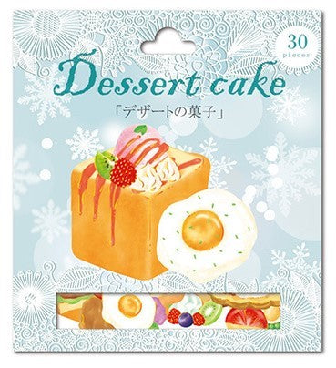 Nekoni Dessert Cake Shibuya Honey Toast Sticker Flakes