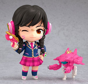 Overwatch Nendoroid Action Figure D.Va Academy Skin Edition Collectables - Sweetie Kawaii