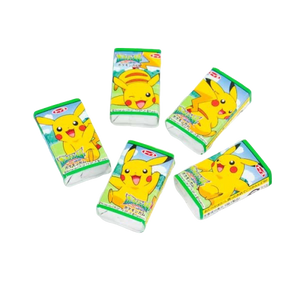 Pikachu Apple Flavoured Chewing Gum Candy Japanese Candy & Snacks - Sweetie Kawaii