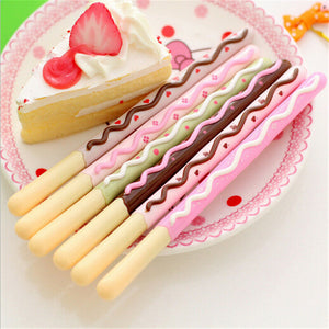 Pocky Chocolate Biscuit Inspired Pen Stationery - Sweetie Kawaii