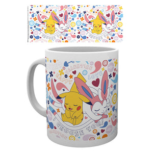 Pokemon Valentine I Choose You Mug Homeware & Kitchen - Sweetie Kawaii