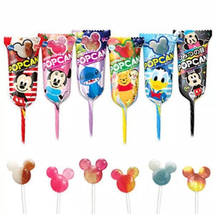 Pop Can Disney Assorted Flavoured Lollipop Japanese Candy & Snacks - Sweetie Kawaii