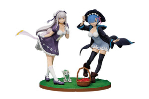 Re: Zero -Starting Life in Another World- Ichibansho PVC Statue Emilia & Rem Set Collectables - Sweetie Kawaii
