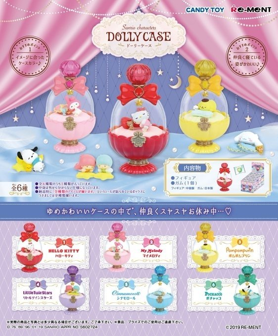 Re-ment Sanrio Characters Dolly Case