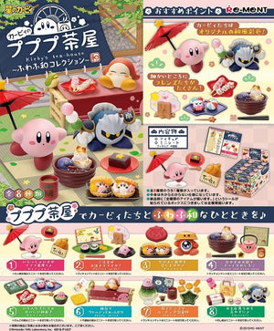 Re-ment Kirby Japanese Tea House Rement Figures Sweetie Kawaii