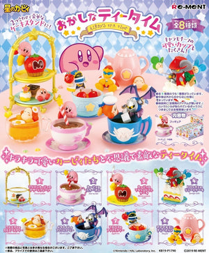 Re-ment Kirby Sweet Tea Time Rement Figures Sweetie Kawaii