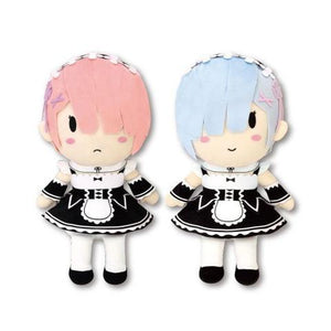 Re: Zero Kadokawa Rem Ram Character Plush Doll