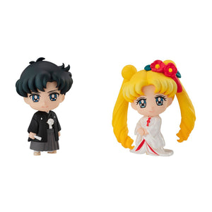 Sailor Moon Petit Chara Happy Wedding Japanese Wedding Version Usagi & Mamoru Collectables - Sweetie Kawaii