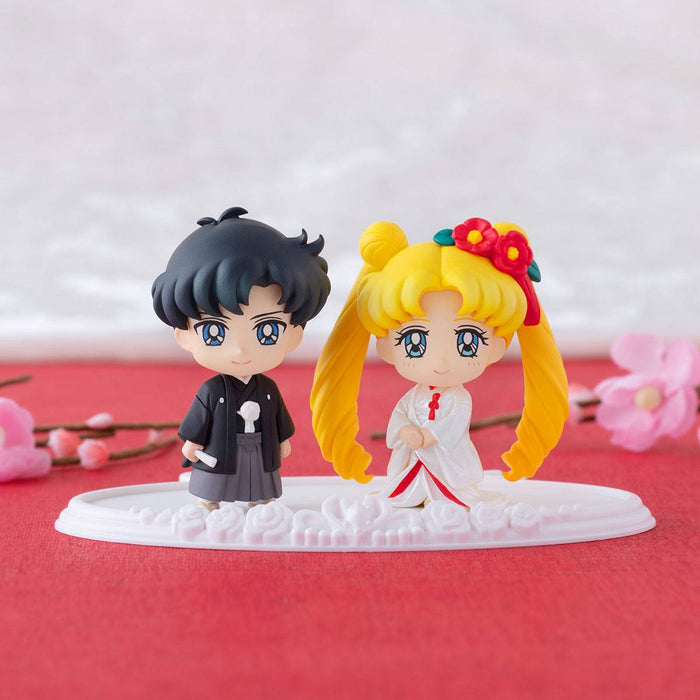 Sailor Moon Petit Chara Happy Wedding Japanese Wedding Version Usagi & Mamoru