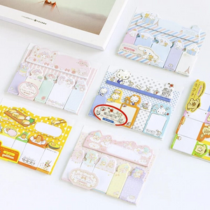 Sanrio Character Sticky Memo Pad Notes v.2 - 90 sheets