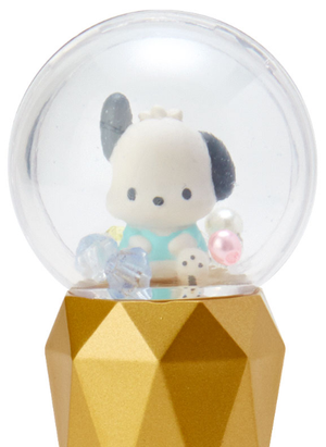 Sanrio Snow Globe Citrus Lip Cream - Pochacco Cosmetics - Sweetie Kawaii