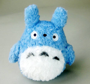 Studio Ghibli My Neighbour Totoro Fluffy Blue Totoro Chuu-Totoro Plush