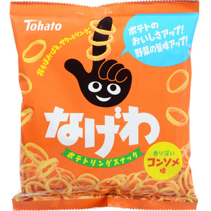Tohato Nagewa Consomme Potato Ring Crisp Snack Japanese Candy & Snacks - Sweetie Kawaii