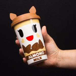Tokidoki Almondina Almond Milk Character Ceramic Travel Mug