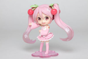 Vocaloid PVC Dolly Crystal Statue Hatsune Miku Sakura Cherry Blossom Miku Collectables - Sweetie Kawaii