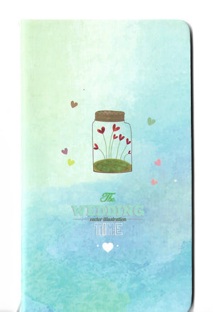 A Wish in a Jar Watercolour Summer Mini Memo Notebook Stationery - Sweetie Kawaii