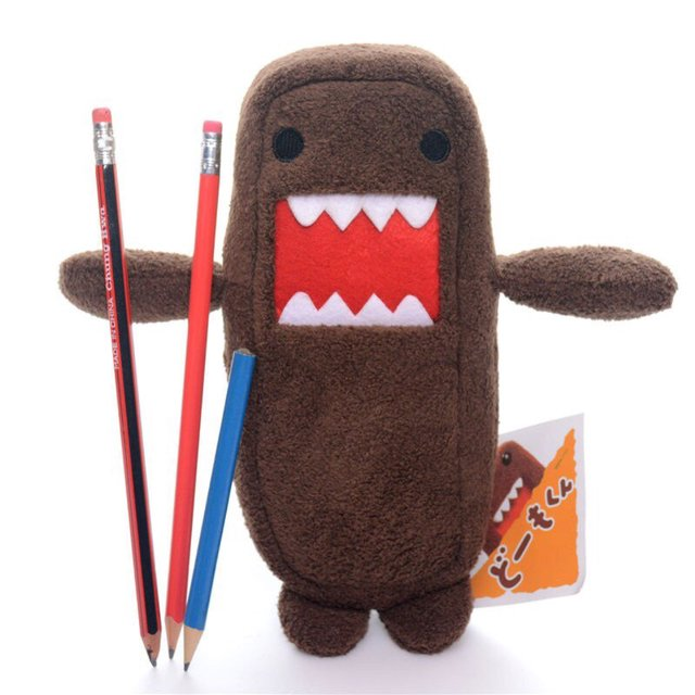 Domokun Domo Plush Pencil Case
