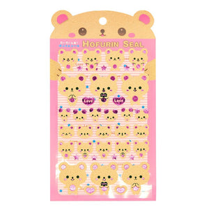 Hofurin Seal Kuma Bear Sticker Sheet Stickers - Sweetie Kawaii