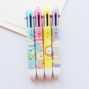 Sumikko Gurashi Corner Creature Multicolour Ballpoint Pen Stationery - Sweetie Kawaii