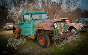 Antique Truck (Green)
