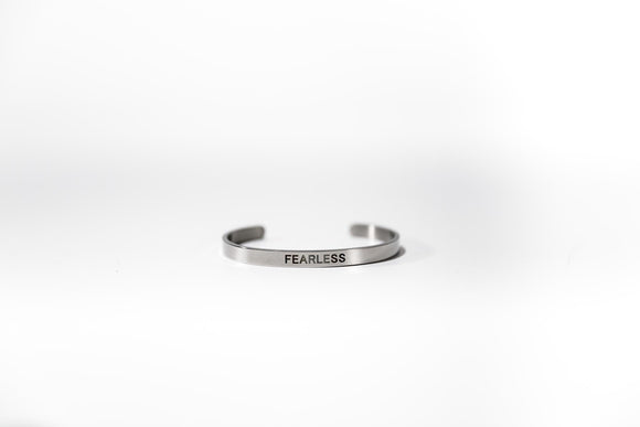 Fearless Stainless Steel Bracelet