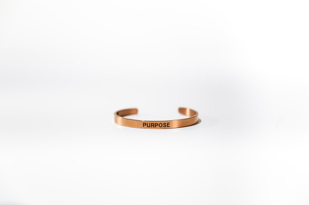 Purpose Stainless Steel Bracelet
