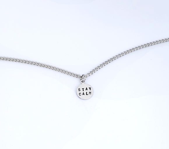 Stay Calm Necklace