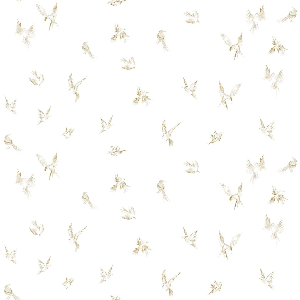 Birds in flight. Customizable and in various background colors. Peel and stick wherever you want