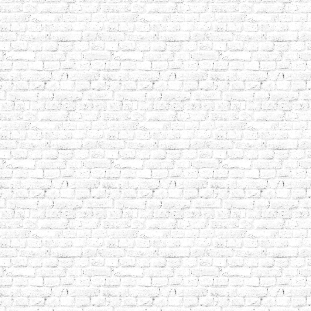 White Brick Wall. Customizable. Peel and stick wherever you want