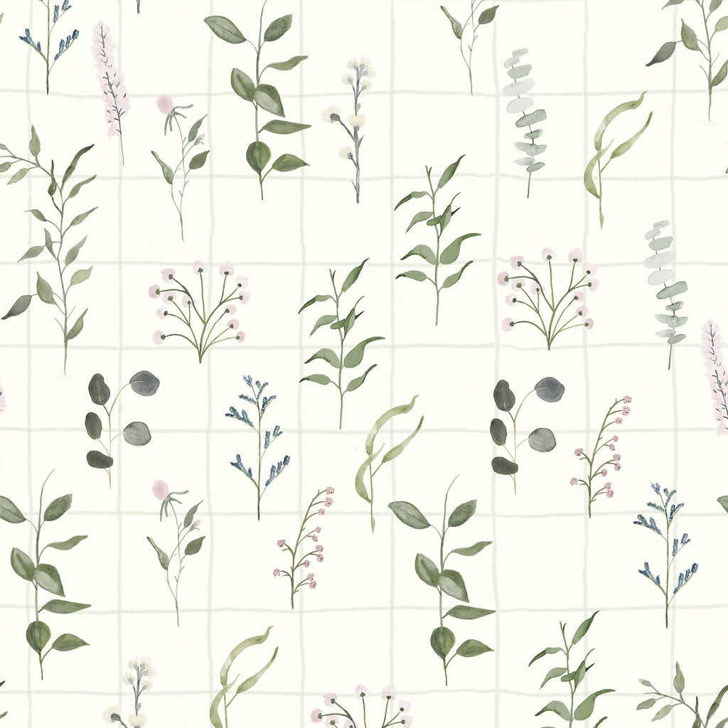 THE MEADOW vinyl. Watercolor painting to bring the scent of the meadow to your house.