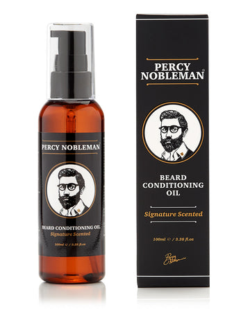 Beard conditioning oil signature scented - Percy Nobelman
