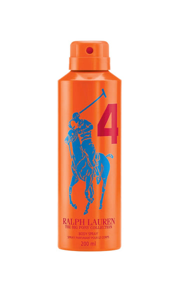 Big Pony Men Orange 4 Body Spray - Ralph Lauren