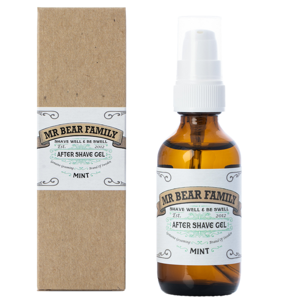 Aftershave Gel Mint - Mr. Bear Family
