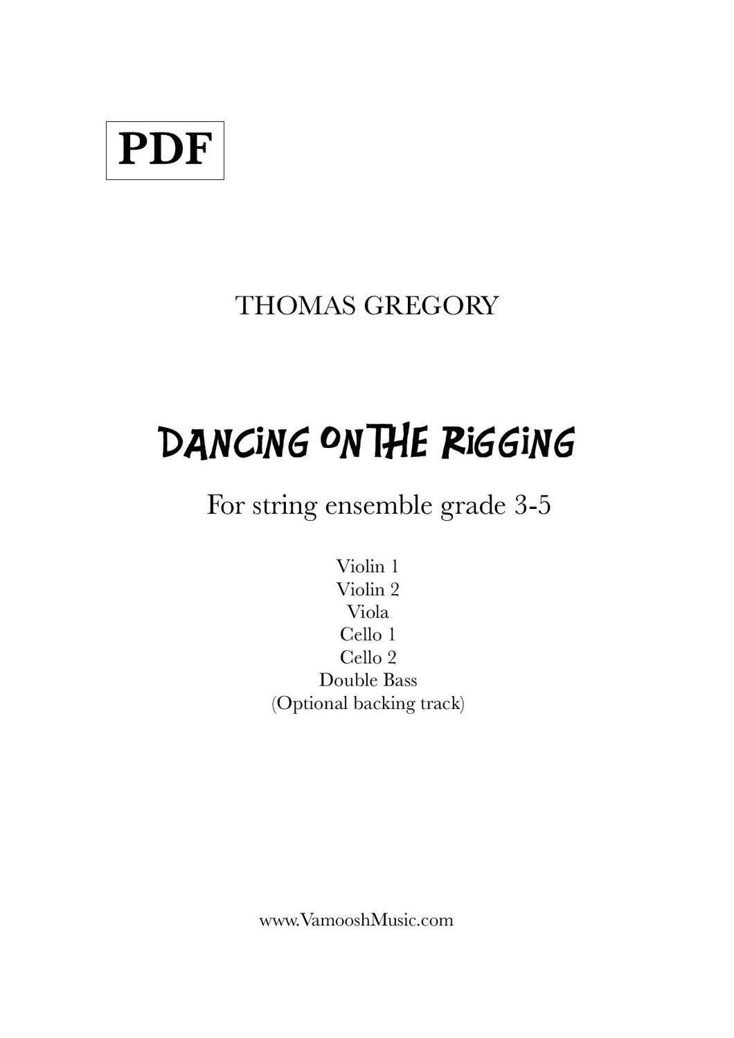 Dancing on the Rigging Backing Track (MP3)