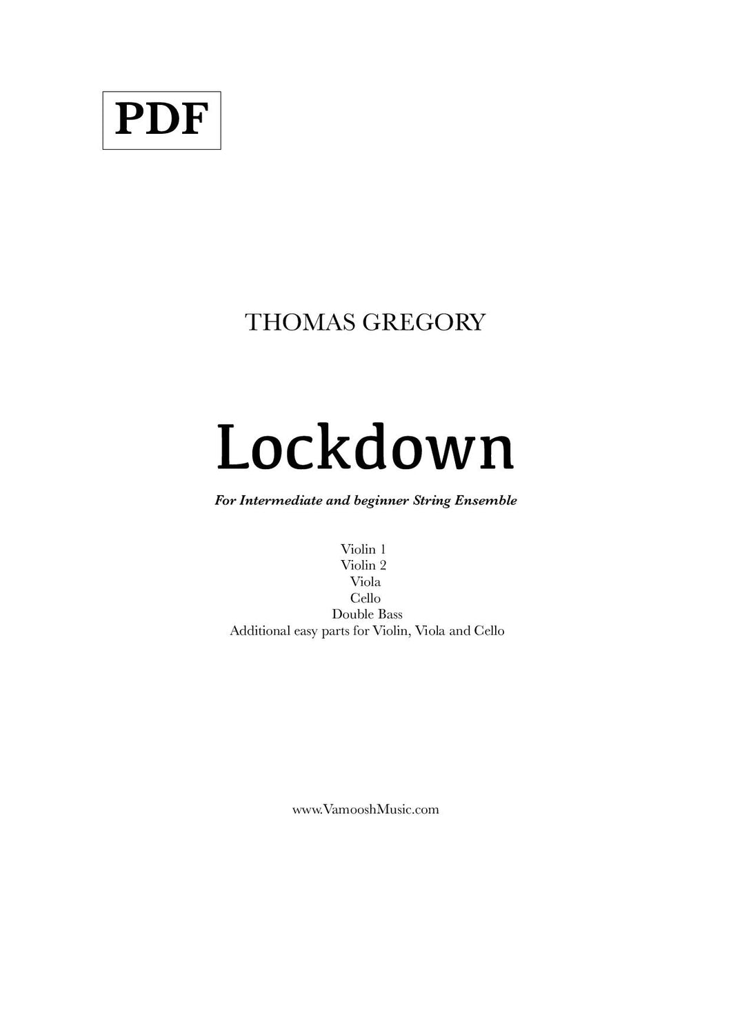 Lockdown (PDF) by Thomas Gregory