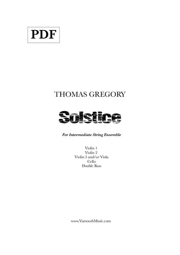 Solstice (PDF) by Thomas Gregory
