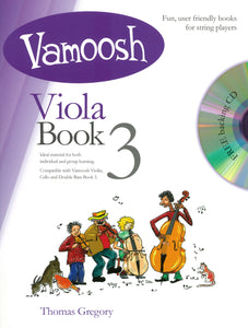 Vamoosh Viola Book 3 Book & CD
