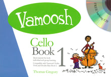 Load image into Gallery viewer, Vamoosh Cello Book 1 Book & CD