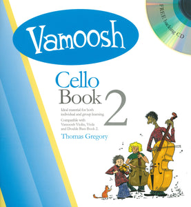 Vamoosh Cello Book 2 Book & CD