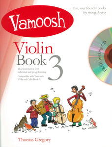 Vamoosh Violin Book 3 Book & CD