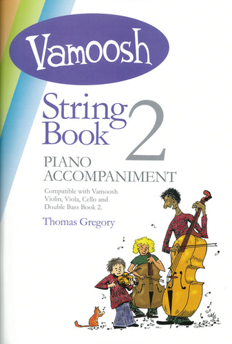 Vamoosh String Book 2 Piano Accompaniment