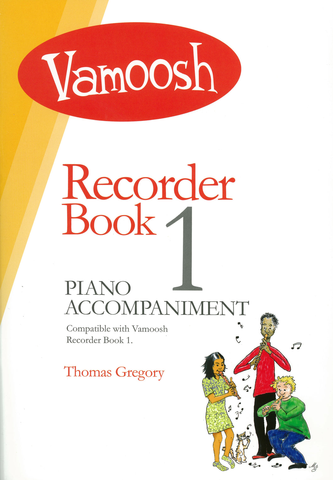 Vamoosh Recorder Book 1 Piano Accompaniment