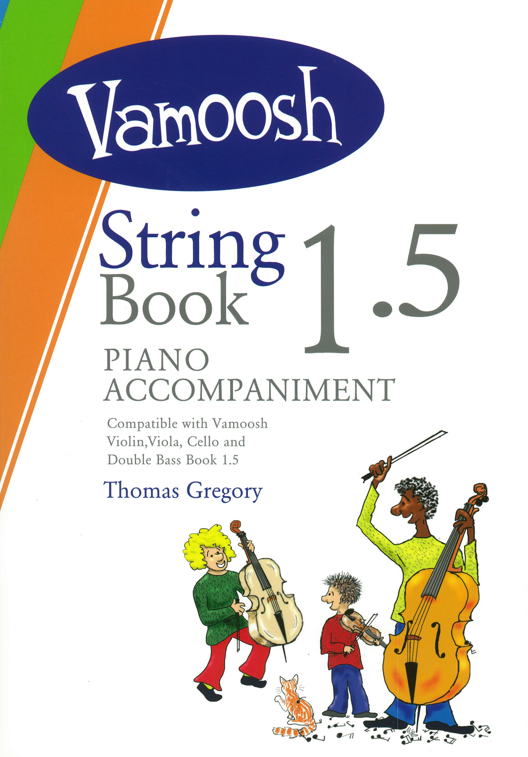 Vamoosh String Book 1.5 Piano Accompaniment