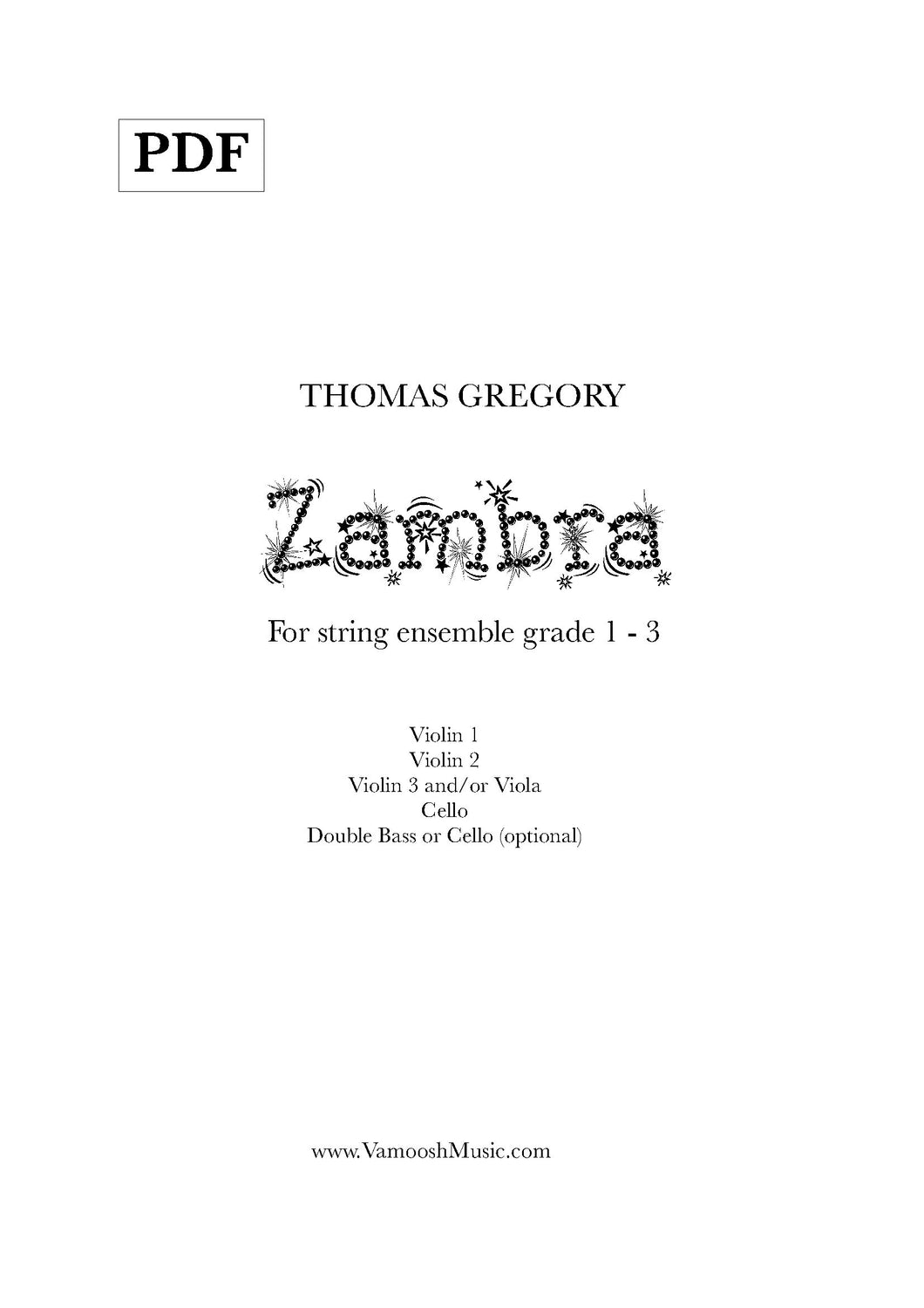 Zambra (PDF) by Thomas Gregory