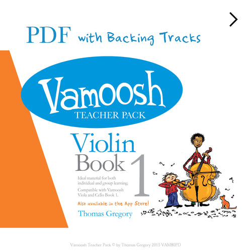 Vamoosh Violin Book 1 Teacher Pack PDF