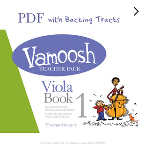 Vamoosh Viola Book 1 Teacher Pack PDF