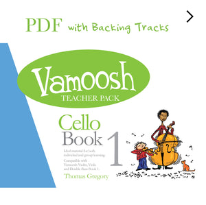 Vamoosh Cello Book 1 Teacher Pack PDF